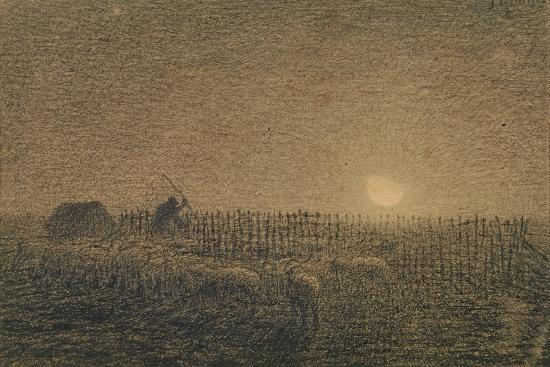 jean-francois-millet-the-shepherd-at-the-fold-by-moonlight