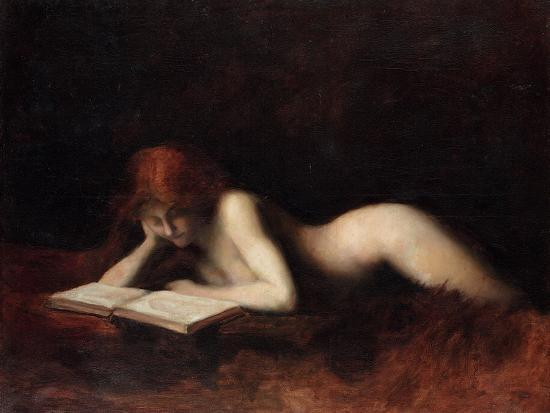 jean-jacques-henner-reclining-nude-woman-reading-a-book