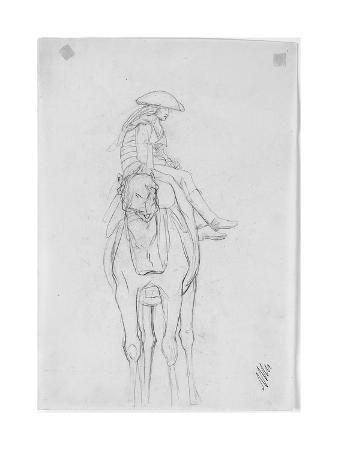 jean-leon-gerome-an-officer-riding-a-camel