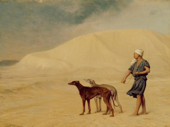 jean-leon-gerome-in-the-desert