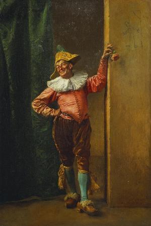 jean-louis-ernest-meissonier-polichinelle-in-pink-1879