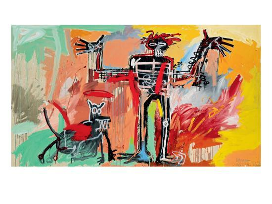 jean-michel-basquiat-boy-and-dog-in-a-johnnypump-1982