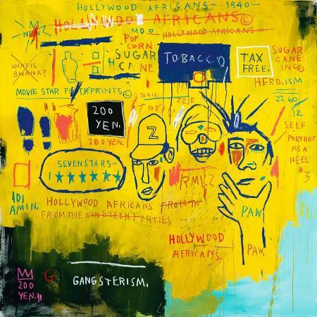 jean-michel-basquiat-hollywood-africans-1983