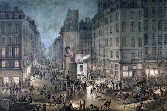 jean-pierre-norblin-parade-on-the-place-de-l-ecole-1823