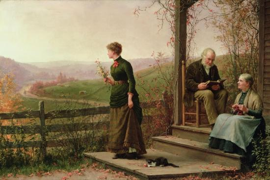 jennie-augusta-brownscombe-love-s-young-dream-1887
