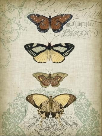 jennifer-goldberger-cartouche-and-butterflies-i