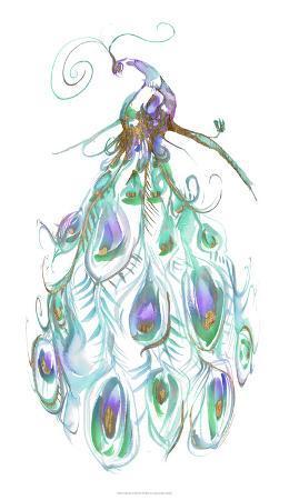 jennifer-goldberger-gilded-peacock-plumes-i