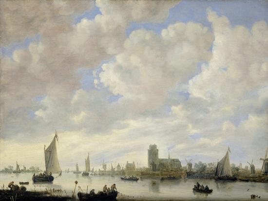 jeronimus-van-diest-view-of-the-merwede-at-dordrecht-c-1660