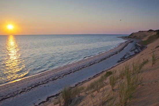jerry-and-marcy-monkman-sunset-over-duck-harbor-beach-in-wellfleet-massachusetts-cape-cod