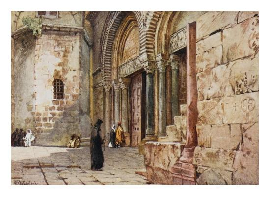 jerusalem-entrance-to-the-church-of-the-holy-sepulchre