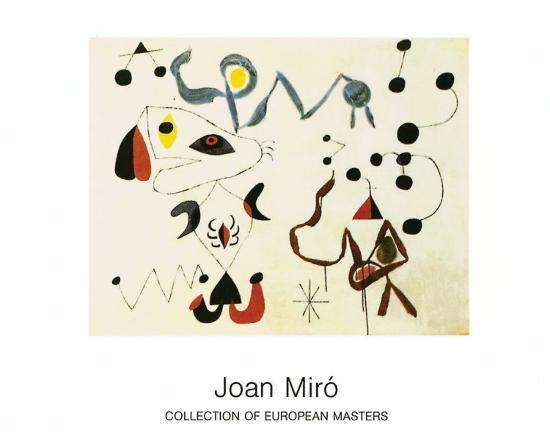 joan-miro-femmes-et-oiseau-la-nuit-1945