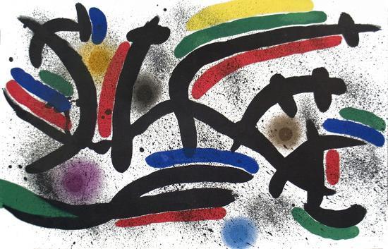 joan-miro-lithograph-i-number-ix