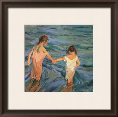 joaquin-sorolla-y-bastida-children-in-the-sea-1909