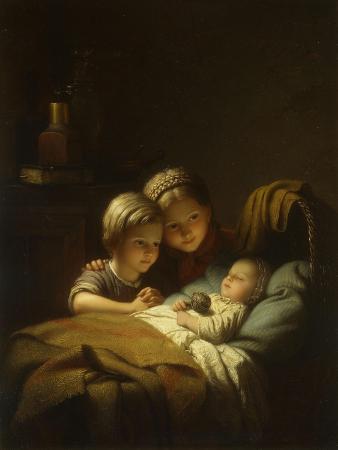 johan-georg-meyer-the-little-sleeping-brother