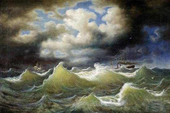 johan-knutson-steamboat-on-stormy-water
