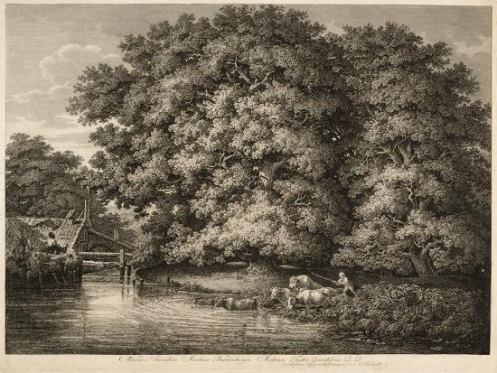 johann-christian-reinhart-a-farmer-driving-his-cattle-into-the-water-1780