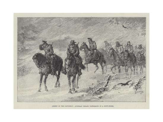 johann-nepomuk-schonberg-armies-of-the-continent-austrian-uhlans-patrolling-in-a-snow-storm