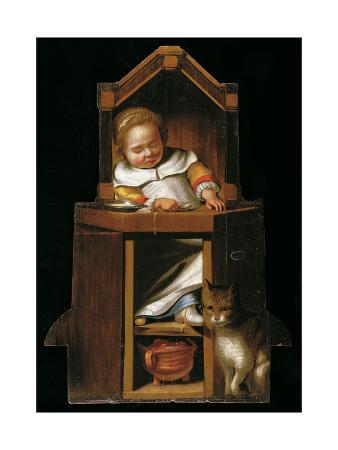 johannes-cornelisz-verspronck-sleeping-baby-in-highchair