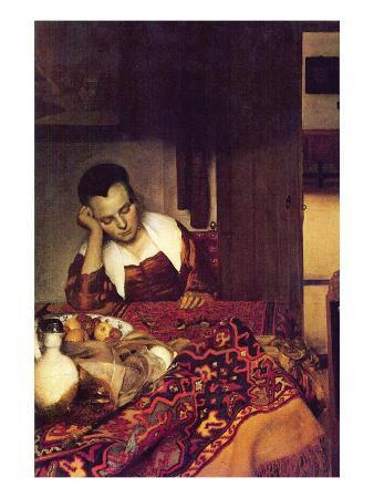 johannes-vermeer-a-woman-asleep