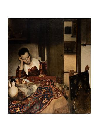 johannes-vermeer-girl-asleep-at-a-table-1656-57