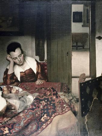 johannes-vermeer-girl-asleep-at-a-table