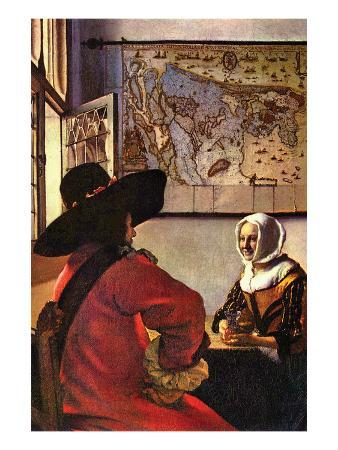 johannes-vermeer-soldier-and-girl-smiling