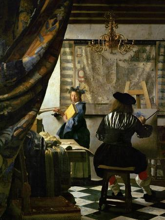 johannes-vermeer-the-painter-vermeer-s-self-portrait-and-his-model-as-klio