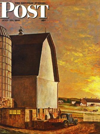 john-atherton-dairy-farm-saturday-evening-post-cover-july-19-1947