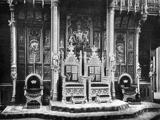 john-benjamin-stone-the-royal-throne-house-of-lords-westminster-c1905