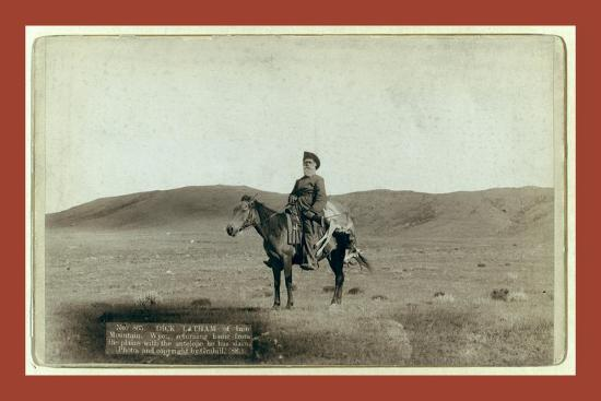 john-c-h-grabill-dick-latham-of-iron-mountain-wyo-returning-home-from-the-plains-with-the-antelope-he-has-slain