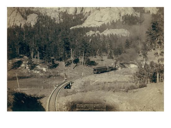 john-c-h-grabill-horse-shoe-curve-on-burlington-and-missouri-river-railway-buckhorn-mountains-in-background