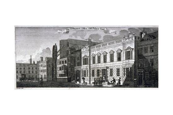 john-carter-ordnance-office-for-the-palace-of-westminster-old-palace-yard-westminster-london-1783