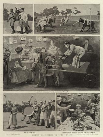 john-charles-dollman-british-festivities-in-upper-egypt