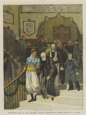 john-charles-dollman-christmas-day-at-the-seamen-s-hospital-greenwich-coming-down-to-dinner