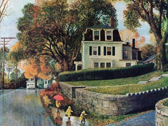 john-clymer-walking-home-in-the-rain-october-20-1962