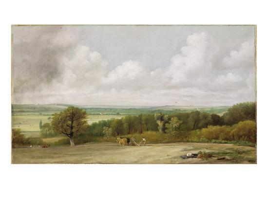 john-constable-landscape-ploughing-scene-in-suffolk-a-summerland-c-1824
