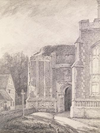 john-constable-south-archway-of-the-ruined-tower-of-east-bergholt-church