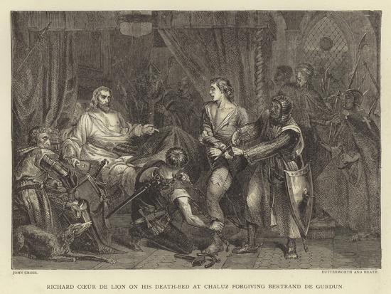 john-cross-richard-coeur-de-lion-on-his-death-bed-at-chaluz-forgiving-bertrand-de-gurdun