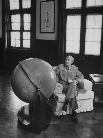john-dominis-globe-in-office-of-chinese-president-chiang-kai-shek-in-formosa