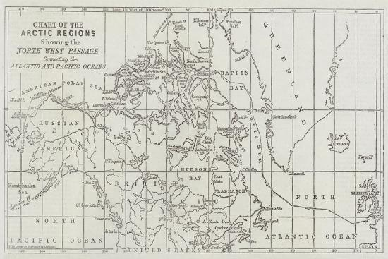 john-dower-chart-of-the-arctic-regions-showing-the-north-west-passage-connecting-the-atlantic-and-pacific-ocea