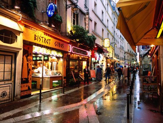 john-elk-iii-qaurtier-latin-quarter-at-night-rue-de-la-huchette-paris-ile-de-france-france