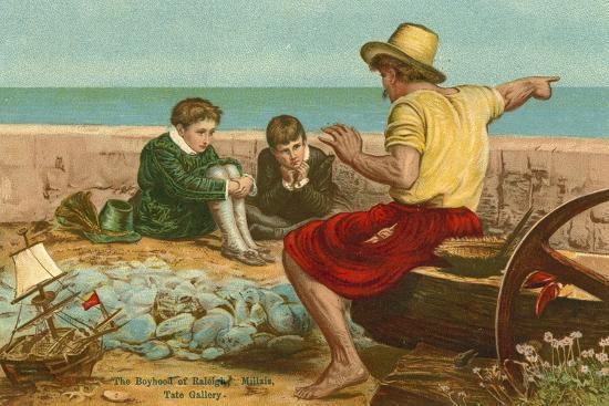 john-everett-millais-the-boyhood-of-sir-walter-raleigh