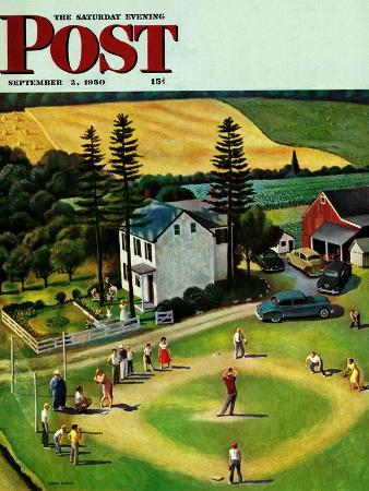 john-falter-family-baseball-saturday-evening-post-cover-september-2-1950