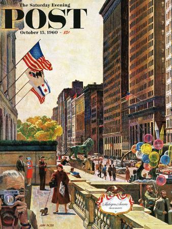 john-falter-michigan-avenue-chicago-saturday-evening-post-cover-october-15-1960