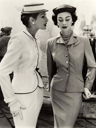 john-french-fiona-campbell-walter-and-anne-gunning-in-tailored-suits-1953