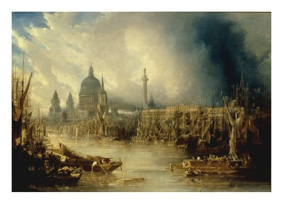 john-gendall-view-of-st-paul-s-from-the-thames
