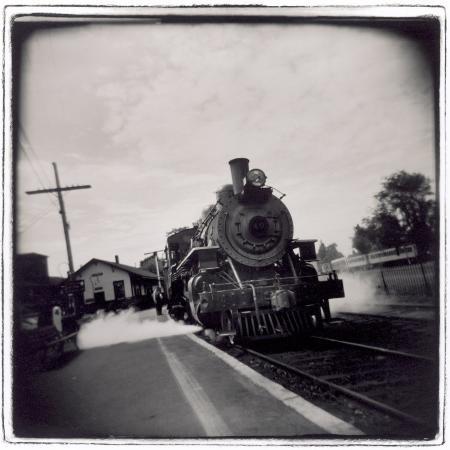 john-glembin-train-pulling-into-station