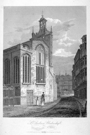 john-greig-church-of-st-andrew-undershaft-leadenhall-street-london-1804