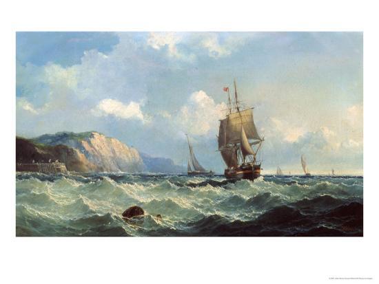 john-henry-claude-wilson-shipping-in-a-high-sea