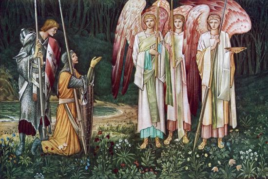 john-henry-dearle-the-vision-of-the-holy-grail-1891